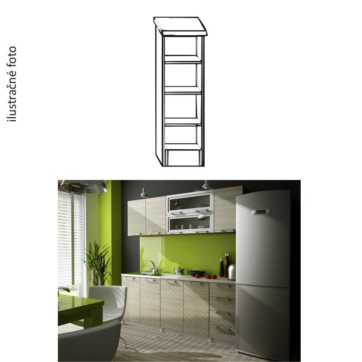 Tempo Kondela Kuchyňská skříňka IRYS D3P-20 + kupón KONDELA10 na okamžitou slevu 3% (kupón uplatníte v košíku)