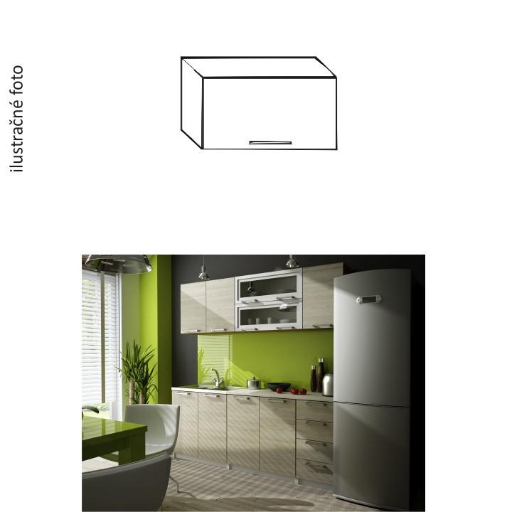 Tempo Kondela Kuchyňská skříňka IRYS GO-60 + kupón KONDELA10 na okamžitou slevu 10% (kupón uplatníte v košíku)