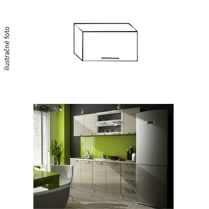 Tempo Kondela Kuchyňská skříňka IRYS GO-60