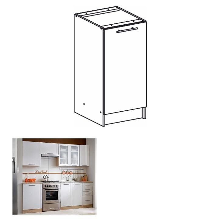 Tempo Kondela Kuchyňská skříňka MONDA S40 + kupón KONDELA10 na okamžitou slevu 3% (kupón uplatníte v košíku)