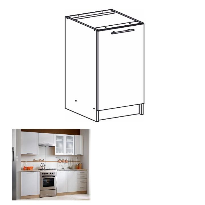 Tempo Kondela Kuchyňská skříňka MONDA S60 + kupón KONDELA10 na okamžitou slevu 3% (kupón uplatníte v košíku)