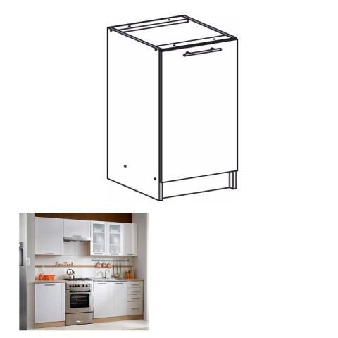 Kuchyňská skříňka MONDA S60
