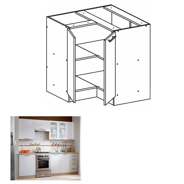 Tempo Kondela Kuchyňská skříňka MONDA S90 / 90 + kupón KONDELA10 na okamžitou slevu 3% (kupón uplatníte v košíku)