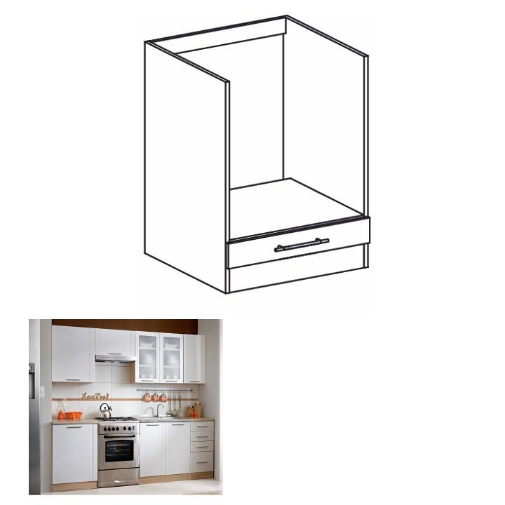 Tempo Kondela Kuchyňská skříňka MONDA S60KU + kupón KONDELA10 na okamžitou slevu 3% (kupón uplatníte v košíku)