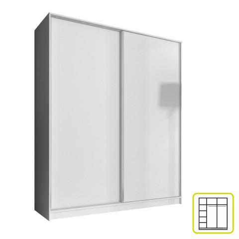 Skříň AVA 160 cm - bílá