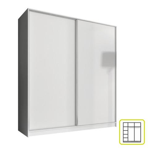 Skříň AVA 180 cm - bílá