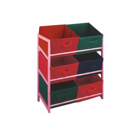 Regál s úložnými boxy COLOR 96