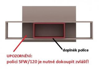 Doplněk police Nikko SFW/120-OPCJA