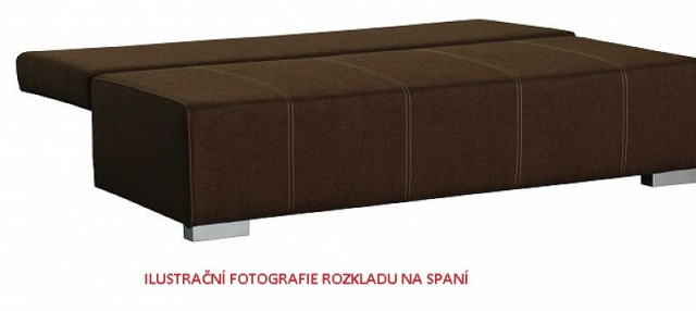 Pohovka Topaz Lux - šedá