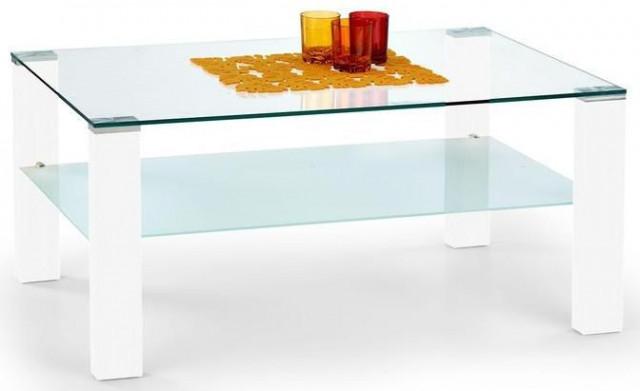Konferenční stolek Simple - Bílý lak
