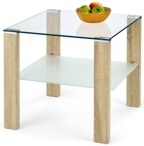 Halmar Konferenční stolek Simple H kwadrat Dub sonoma