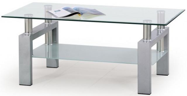 Konferenční stolek Diana - Stříbrný