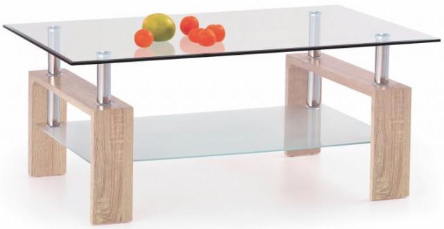 Konferenční stolek Diana - Dub sonoma