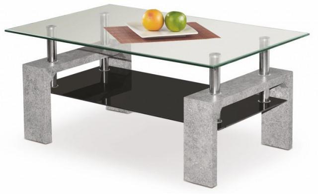 Konferenční stolek Diana Intro - Beton imitace