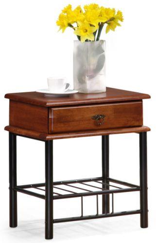 Halmar Noční stolek Fiona, antická třešeň