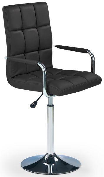 Halmar Dětská židle Gonzo Černá