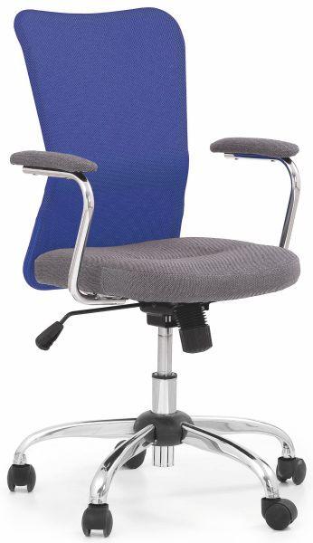 Halmar Dětská židle Andy Oranžovo-šedá