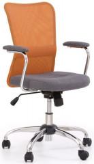 Dětská židle Andy - oranžovo-šedá