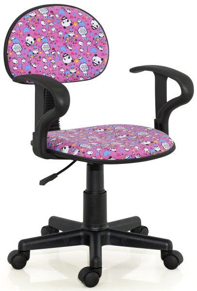 Halmar Dětská židle Alfred Růžová s motivy