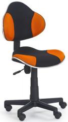 Dětská židle Flash - oranžovo-černá