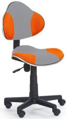 Dětská židle Flash 2 - oranžovo-šedá