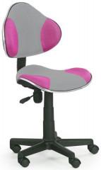 Dětská židle Flash 2 - růžovo-šedá
