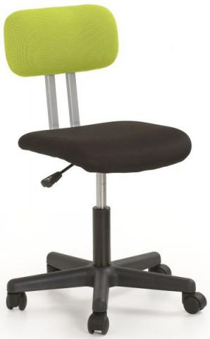 Dětská židle Play - zeleno-černá