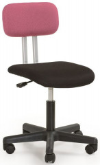 Dětská židle Play - růžovo-černá