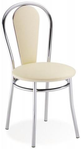 Jídelní židle Tulipan Plus - krémová