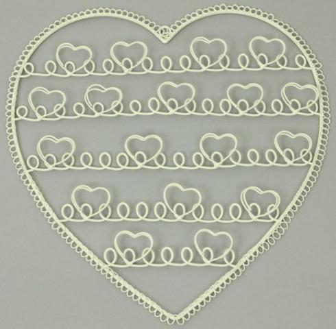 Kovové srdce HB700096