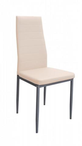 Jídelní židle Milan bílá káva