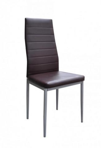 Jídelní židle Milan hnědá