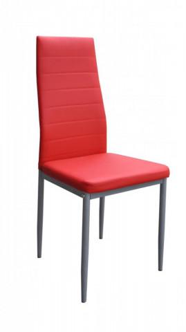 Jídelní židle Milan červená