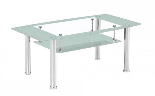 Konferenční stolek BA-3-Frame bílý