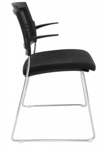 Konferenční židle Aba síťovaná sáně