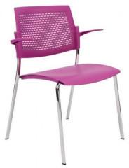 Konferenční židle Aba plastová