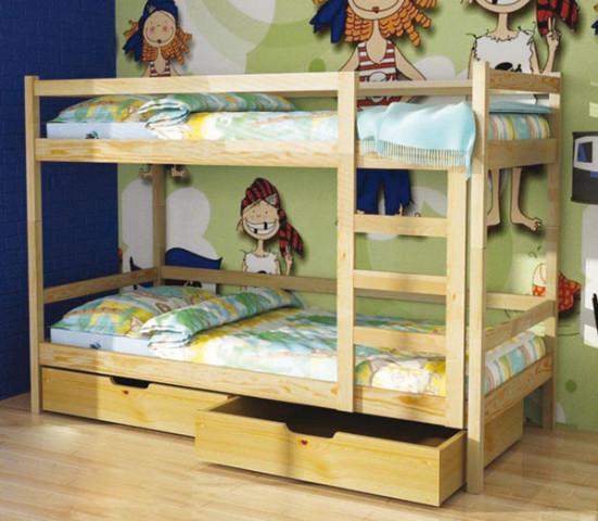 Postel Pino - patrová postel
