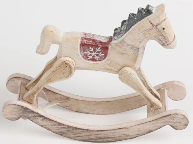 Dřevěný houpací kůň KLA218