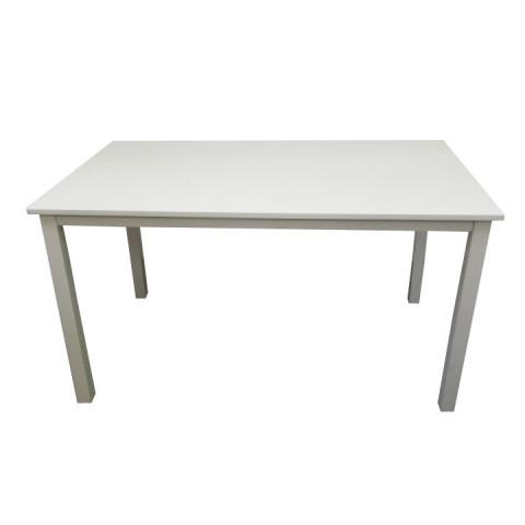 Jídelní stůl ASTRO 135 - bílý