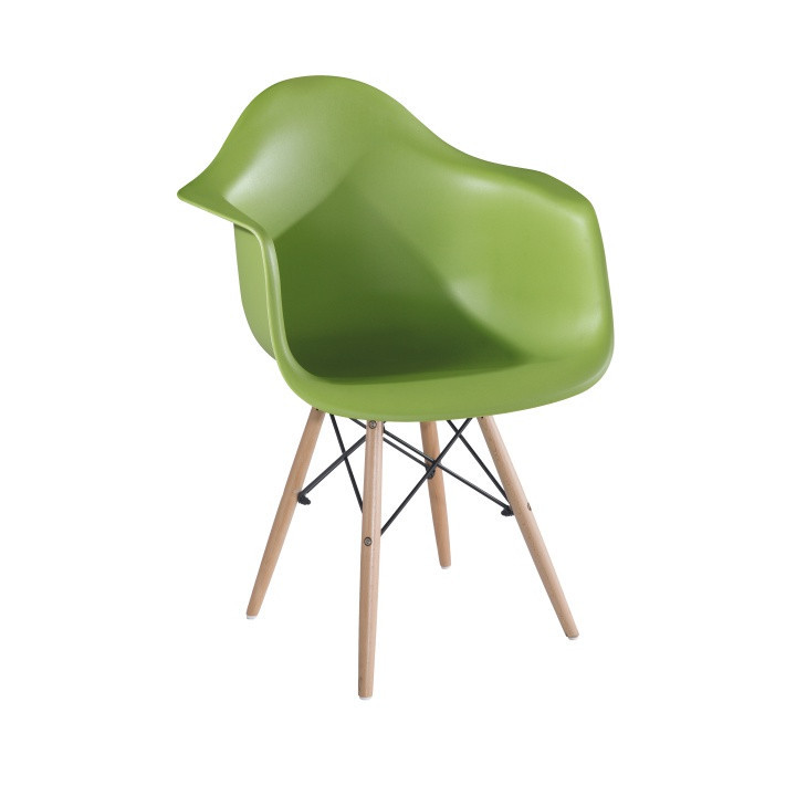 Jídelní židle DAMEN - zelená