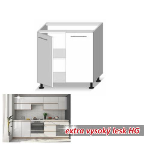 Kuchyňská skříňka LINE WHITE D80