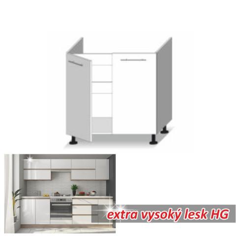 Kuchyňská skříňka LINE WHITE D80 ZL