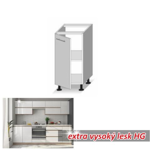 Kuchyňská skříňka LINE WHITE D40