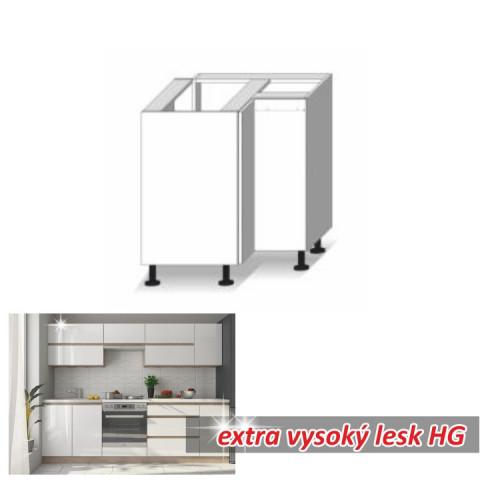 Kuchyňská skříňka LINE WHITE DR L