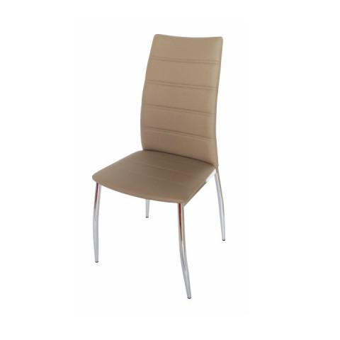 Jídelní židle DELA - hnědá