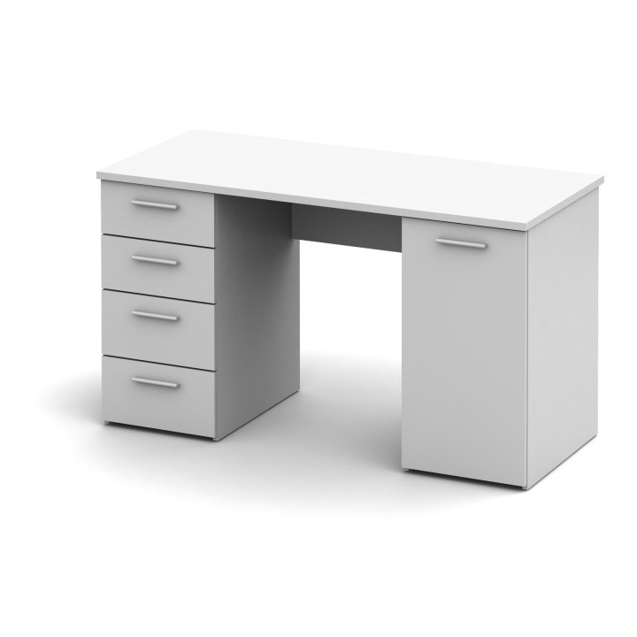 Tempo Kondela Psací stůl EUSTACH - bílý