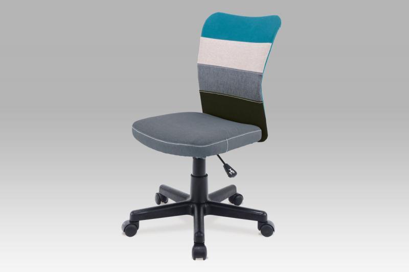Kancelářská židle KA-N837 BLUE