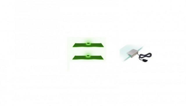 Osvětlení 2 LED - zelená