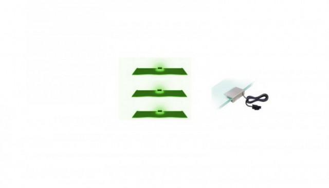 Osvětlení 3 LED - zelená