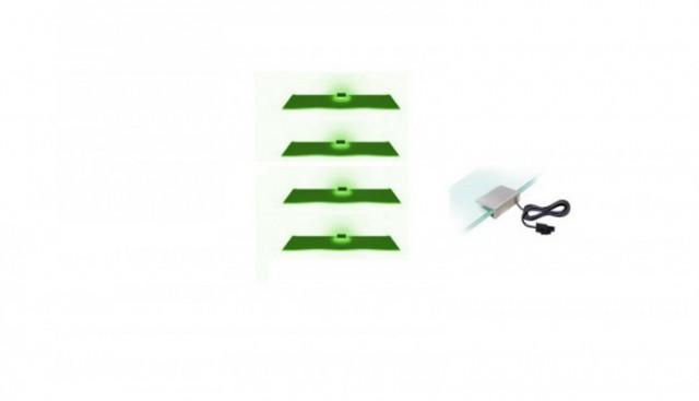 Osvětlení 4 LED - zelená